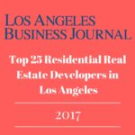 Top 25 Residential Real Estate Developers in Los Angeles