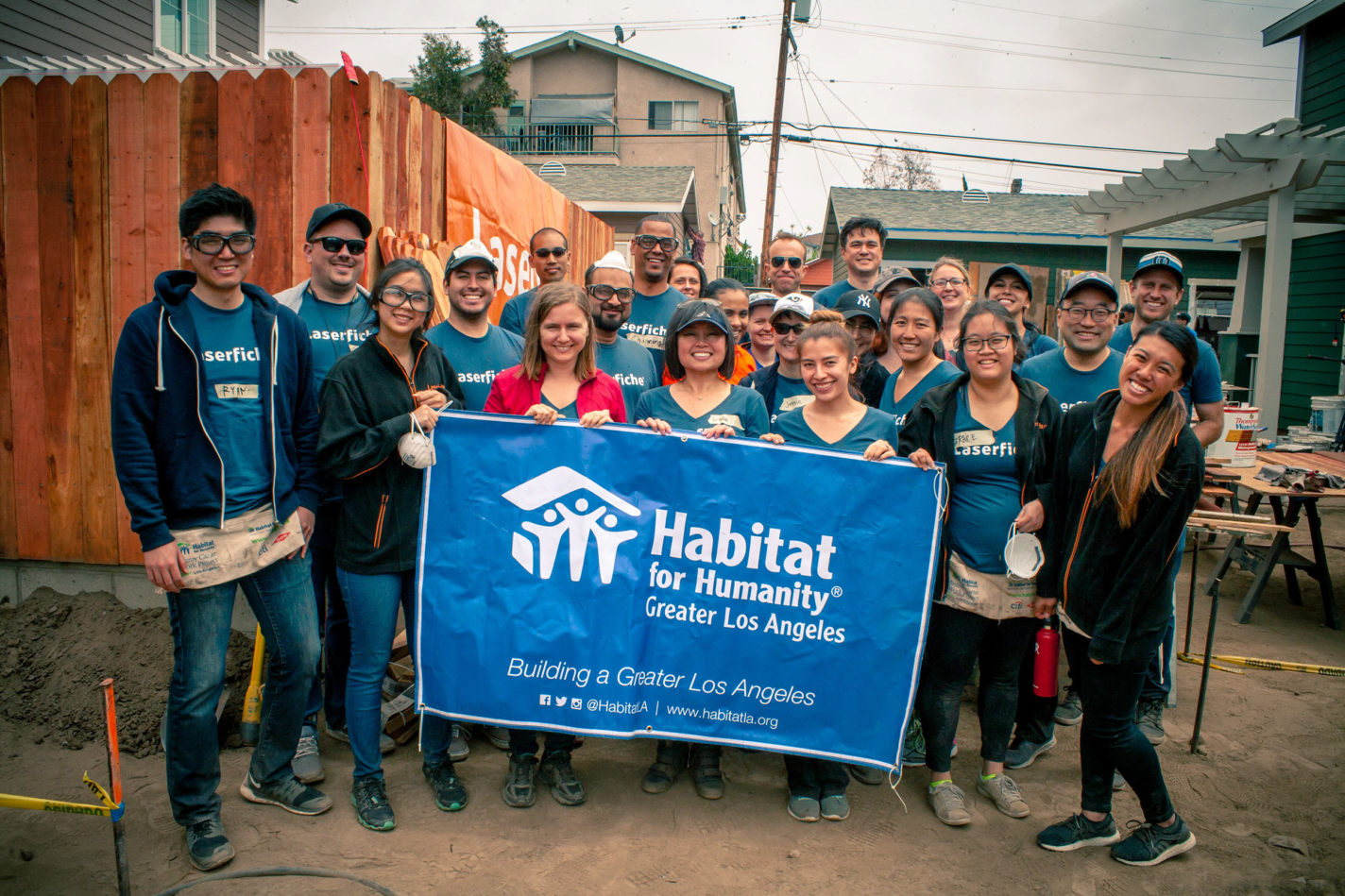 1f1e22064632e Laserfiche Works to Build a Better Long Beach - Habitat For Humanity ...