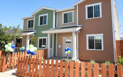 Habitat for Humanity Houses