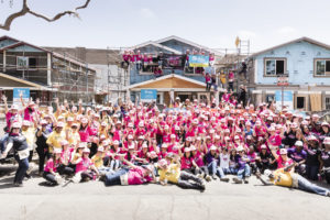 A group shot of all participants at the 2019 Hollywood Build- Power Women, Power Tools.