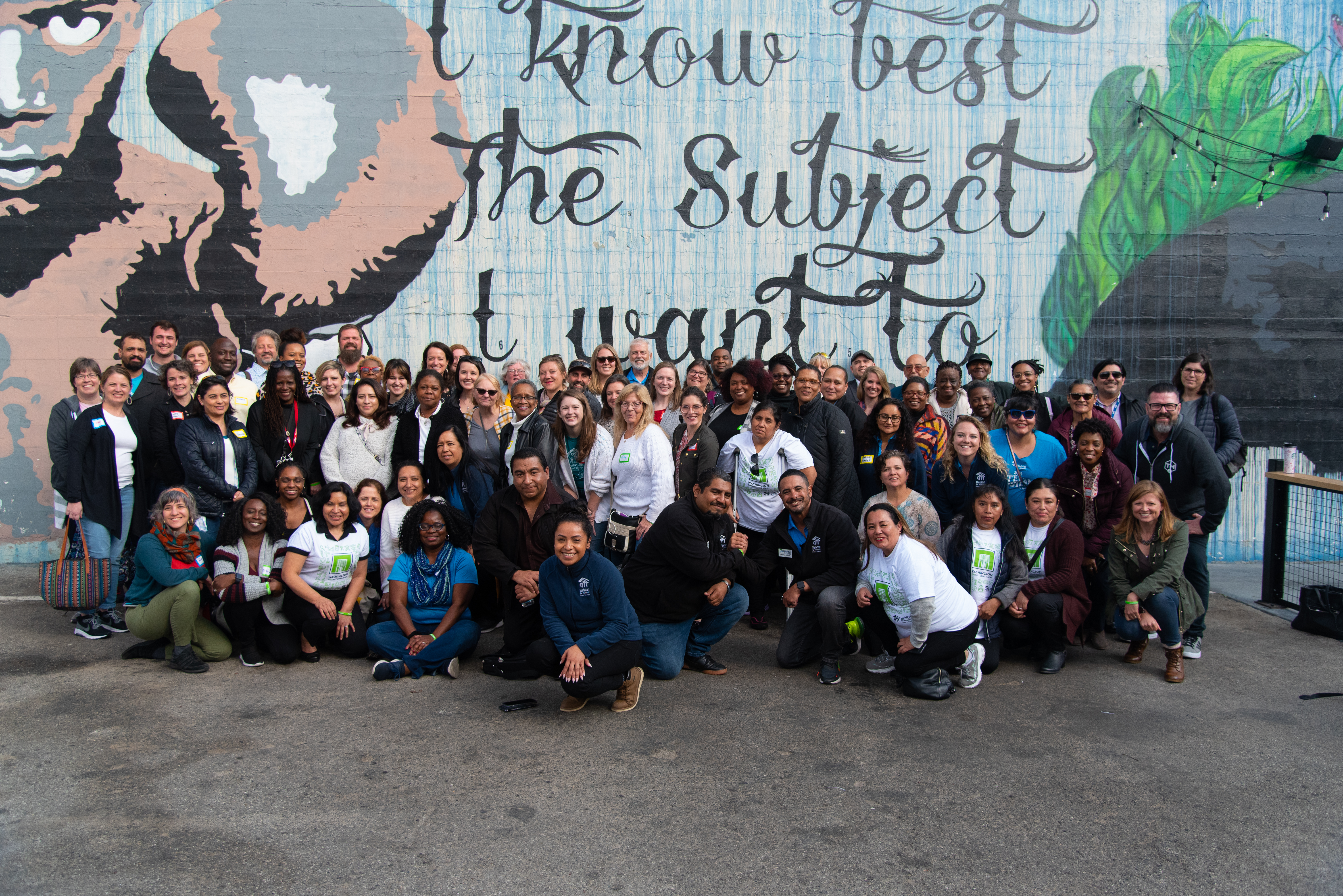 A group shot of everyone who attended the 2020 Neighborhood Revitalization Cohort